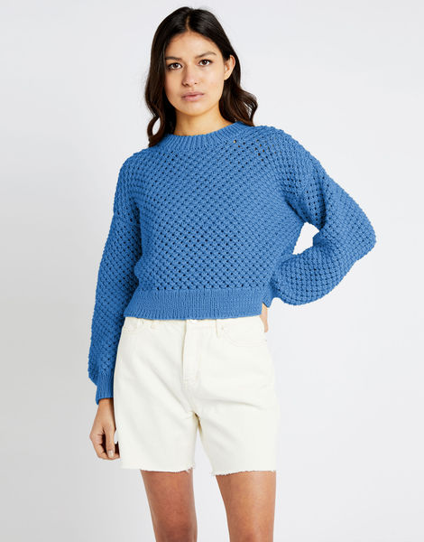 Salt sweater shc cloudy blue