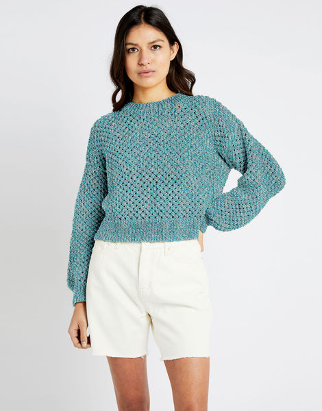 Salt sweater shc blue water