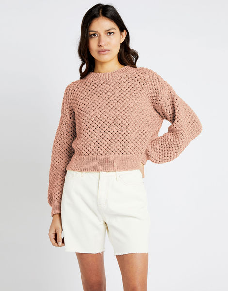 Salt sweater shc cameo rose
