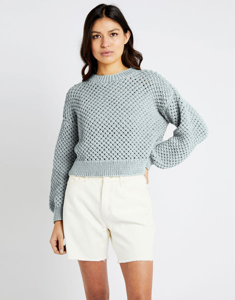 Salt sweater shc duck egg blue