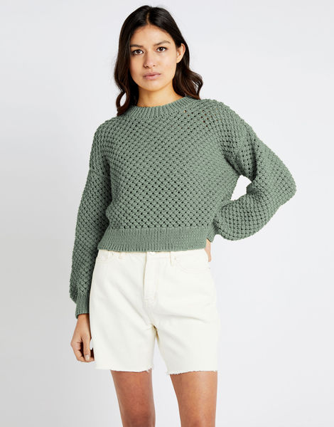 Salt sweater shc eucalyptus green