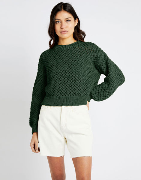 Salt sweater shc fern green