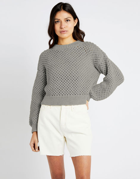 Salt sweater shc jog grey