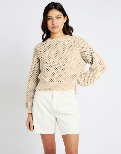Salt sweater shc ivory white