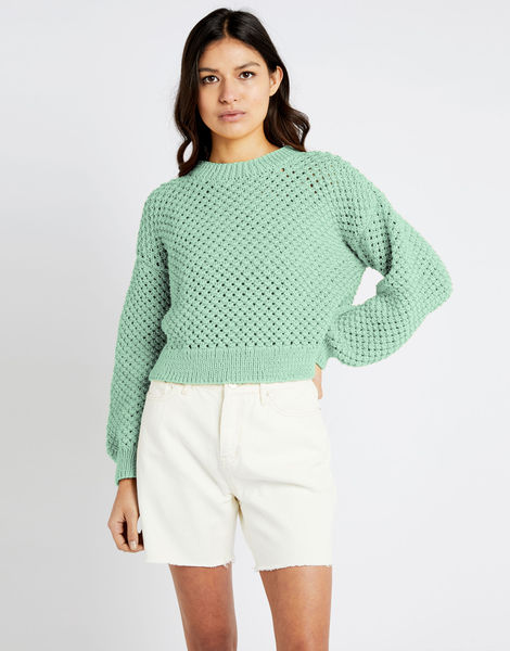Salt sweater shc spearmint green