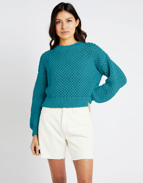 Salt sweater shc turquoise waters