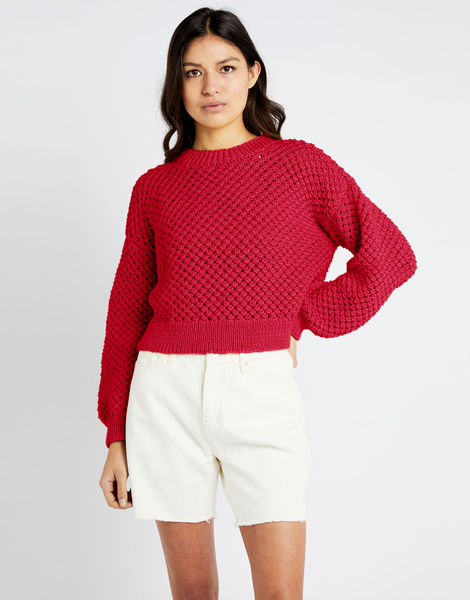 Salt sweater shc true blood red
