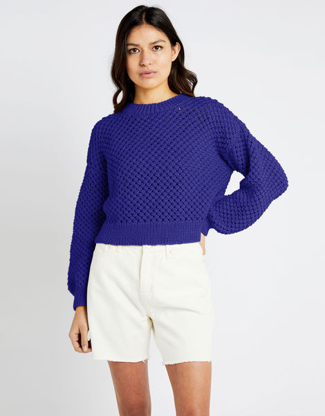 Salt sweater shc ultra violet