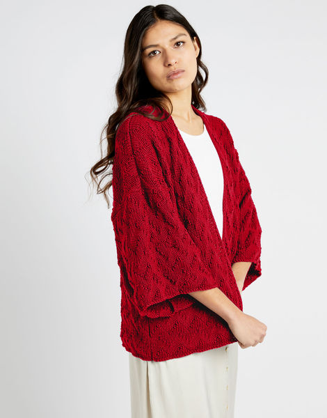 Pacha cardigan shc true blood red