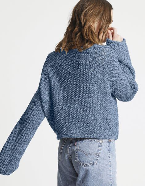 Julia sweater billie jean bjy raw denim
