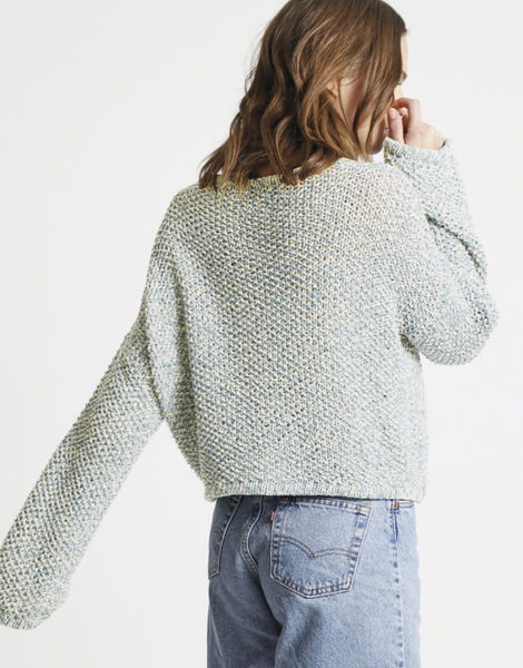 Julia sweater billie jean bjy washed out denim