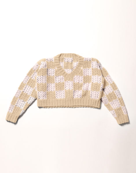01 new rules sweater fgy blonde beige