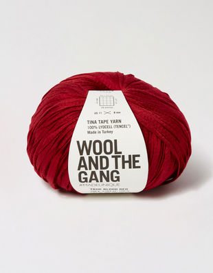 Tina tape yarn tt true blood red