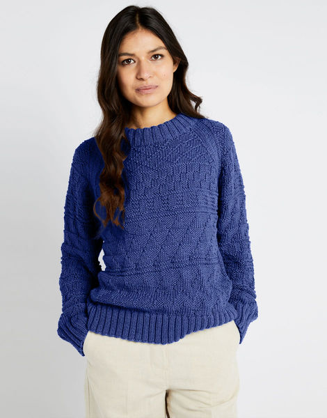 Sanches sweater shc cobalt blue