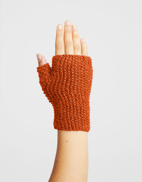 Montana mittens sba rusty orange