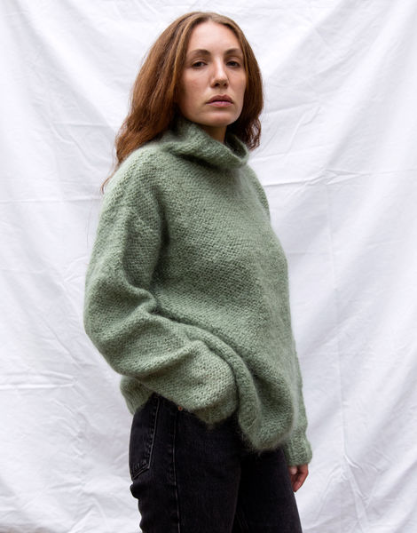 Hotline sweater tcm eucalyptus green 04