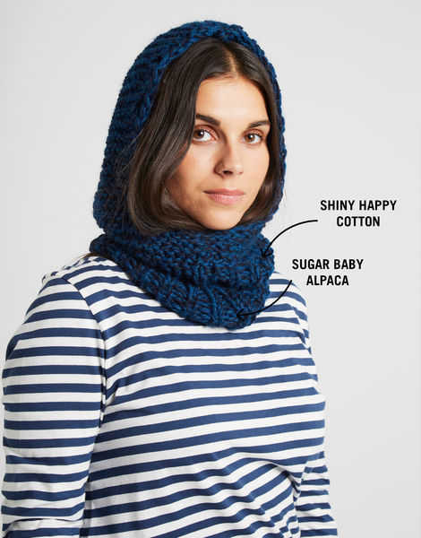 Arctic snood shc sba yarn labelled