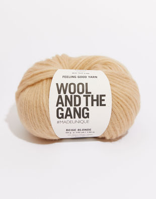 Feeling good yarn fgy blonde beige