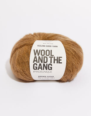 Feeling good yarn fgy brown sugar