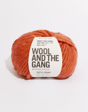 Crazy sexy wool csw earthy orange
