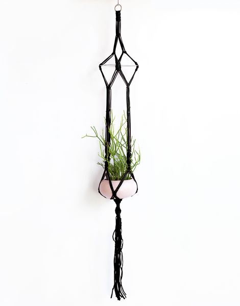 Jungle love plant hanger jbg pop noir