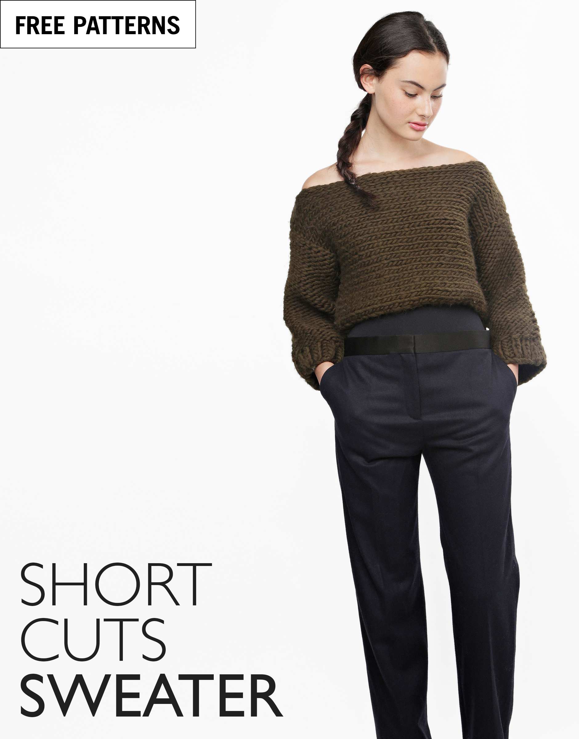 Free pattern index short cuts sweater