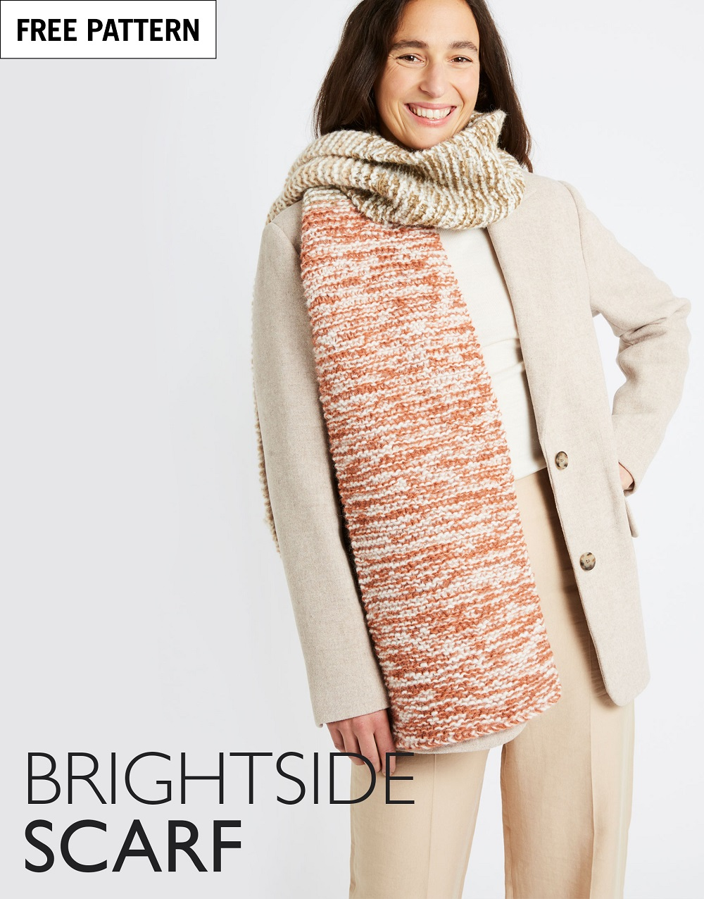 Free pattern index brightside scarf