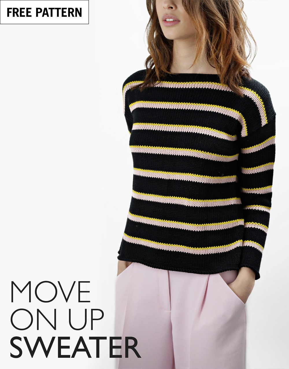 Free pattern index move on up sweater