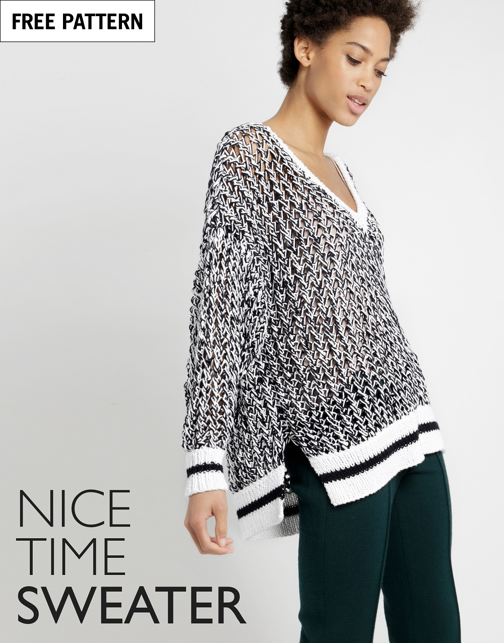 Free pattern index nice time sweater