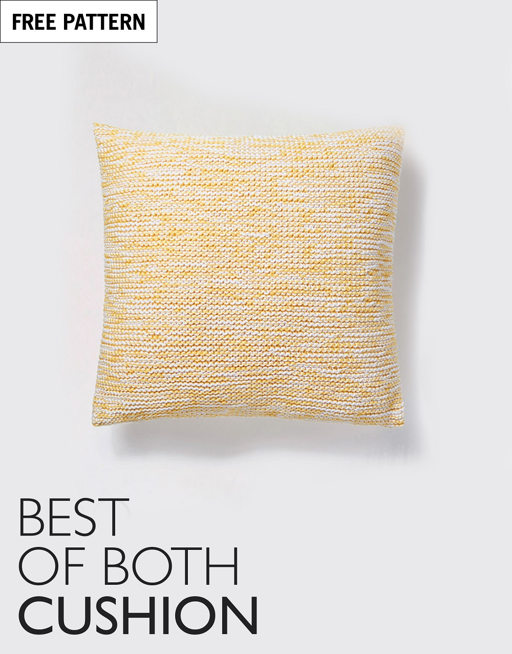 Free pattern index best of both cushion