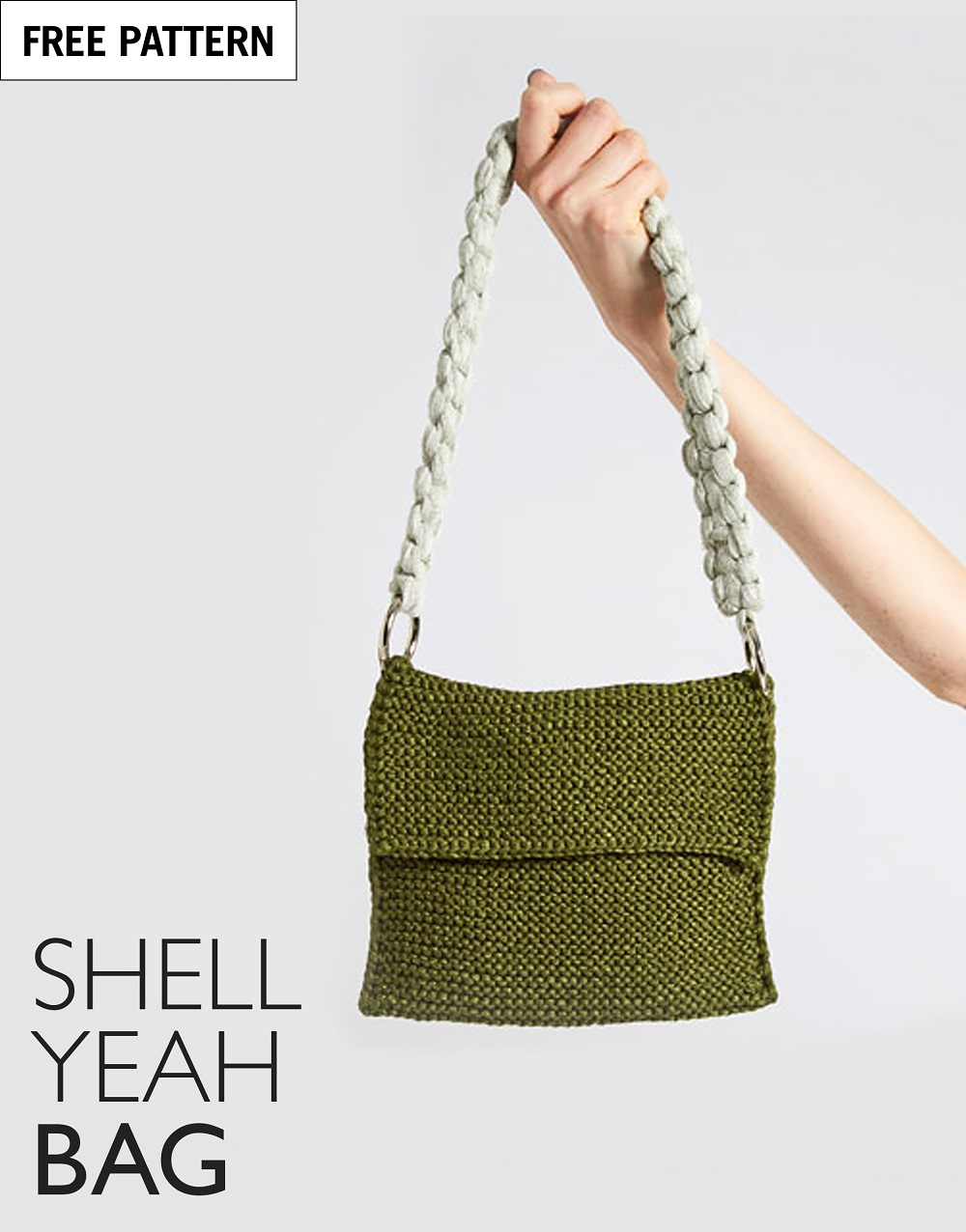 Free pattern index shell yeah bag