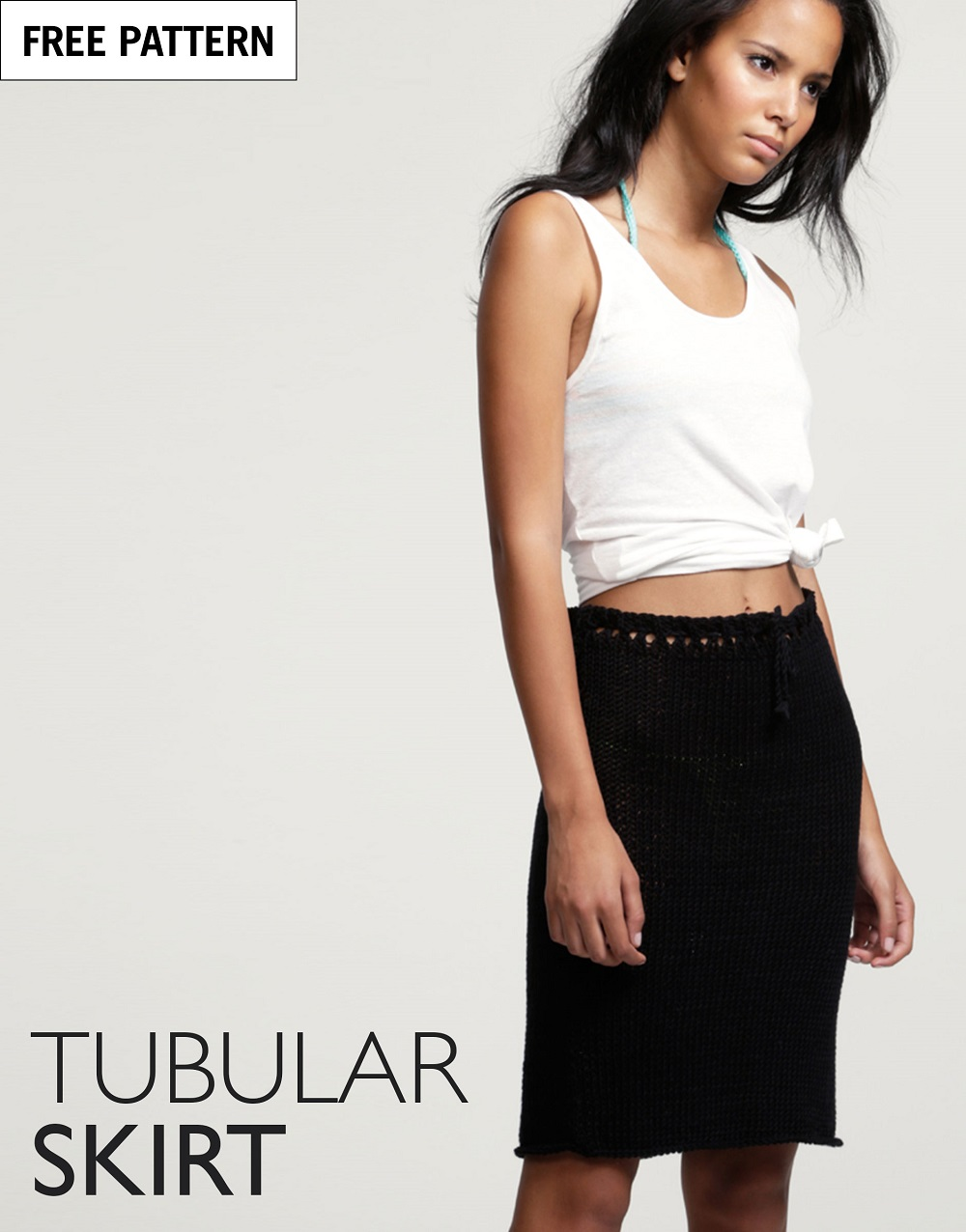 Free pattern index tubular skirt