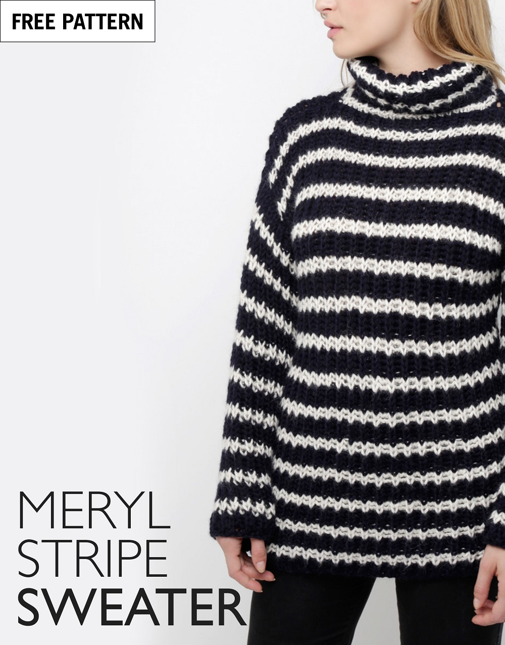 Free pattern index meryl stripe sweater