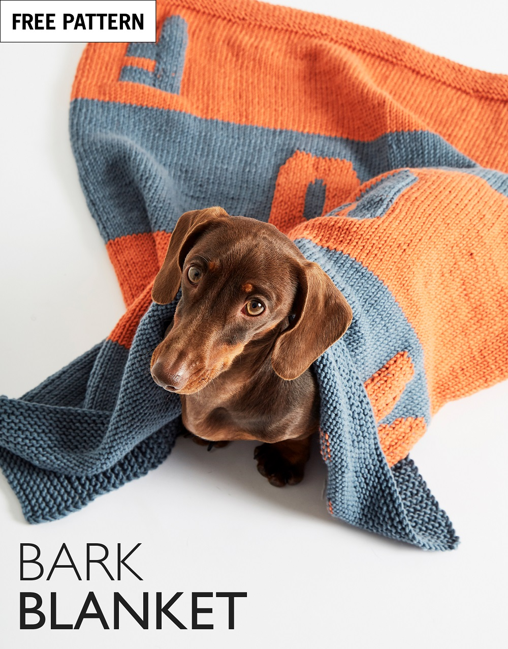 Free pattern index bark blanket
