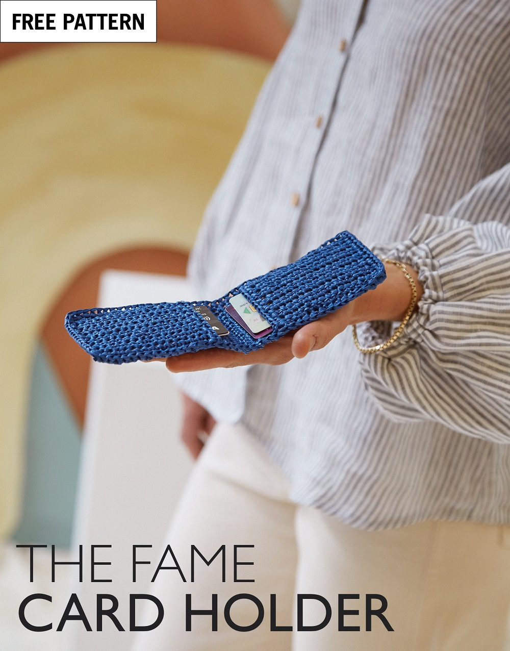 Free pattern index the fame cardholder