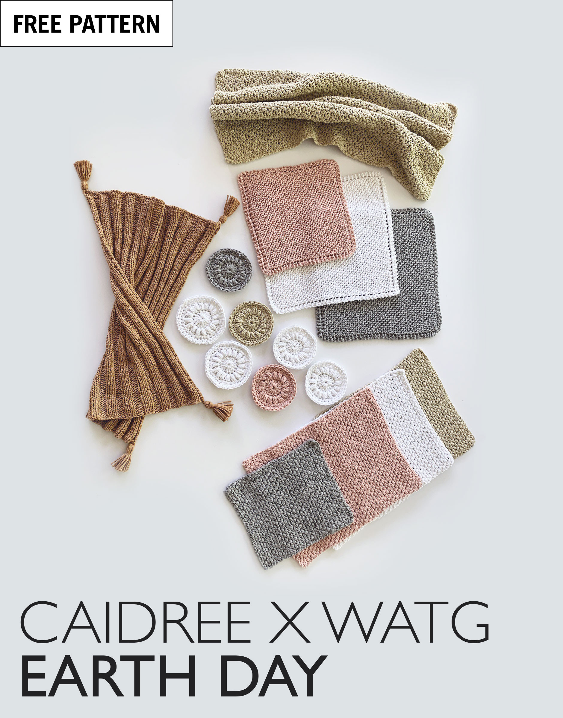 Free pattern index caidree x earth day