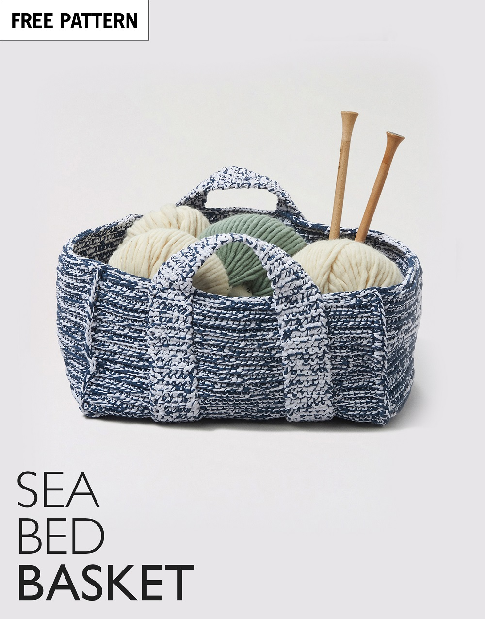 Free pattern index sea bed basket