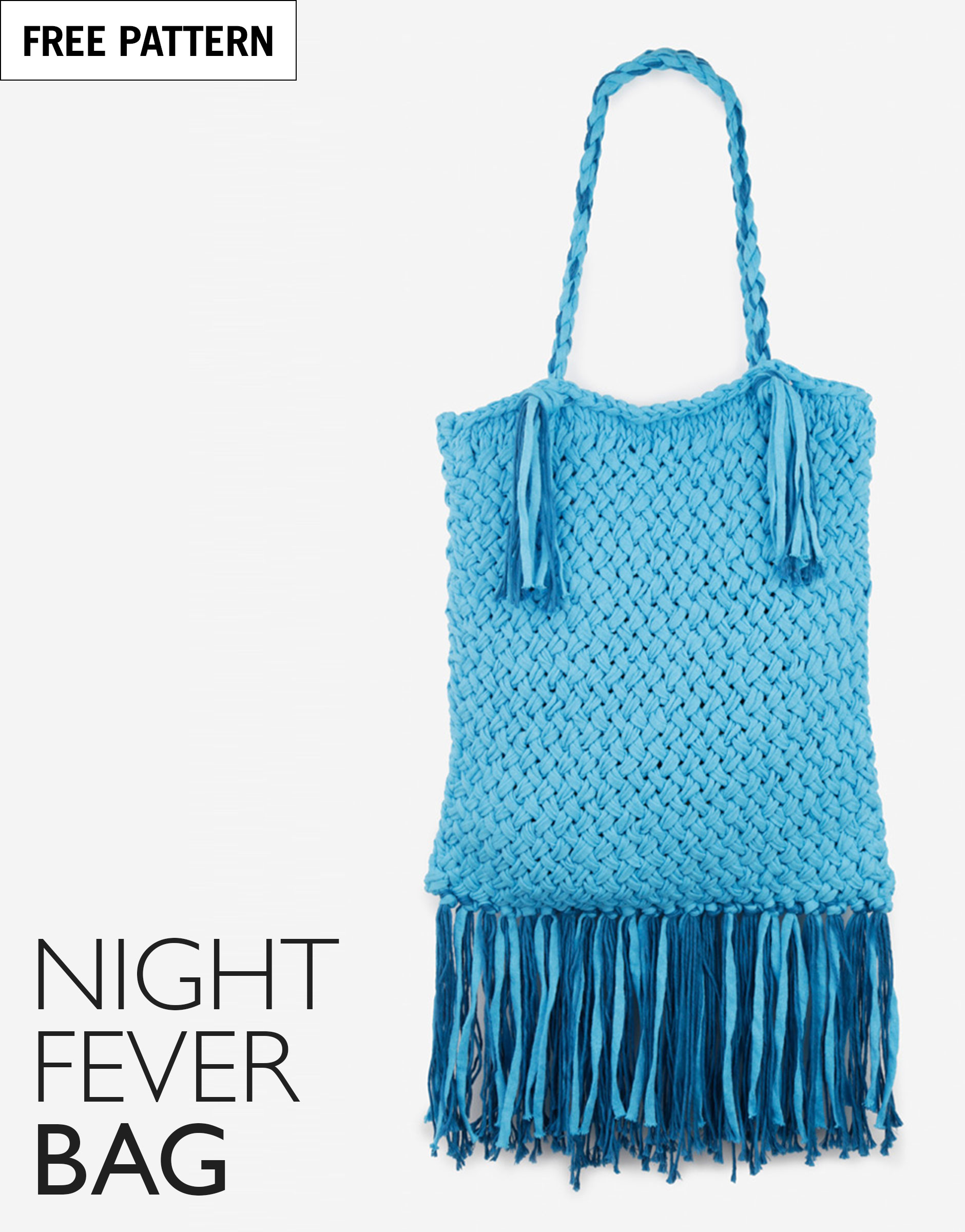 Free pattern index night fever poncho